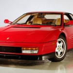 I owned a red Ferrari Testarossa.
